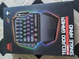 Teclado gamer single hand