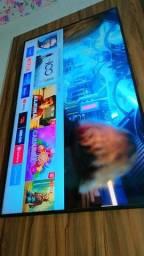 vendo tv smart top de linha de 58 polegada pra vende ligero
