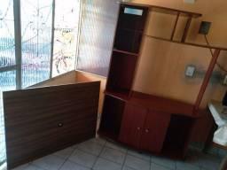 Estante e painel de TV 350,00 os dois