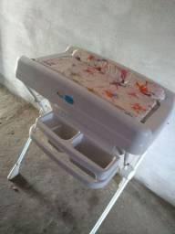 Banheira e Trocador de bebê