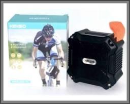 Caixa De Som A Prova D'água Kimiso Original Bluetooth Potente Kms-113