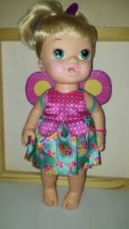 Boneca Baby Alive/faz xixi(usada em ótimas condições, mas sem fraldas)