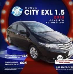 Título do anúncio: Honda City 1.5 Automático 2010
