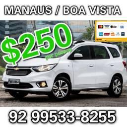 Manaus para Boa Vista SAÍDA AMANHÃ de manhã