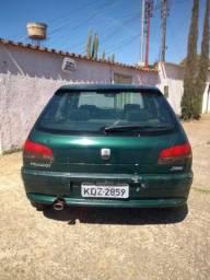 Peugeot  206 2000/2000 1.6 8 válvulas Verde 4 portas completo fáco 6500 à vista leia o