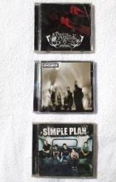 Cd's Originais: Bullet for my Valentine; Oasis e Simple Plan