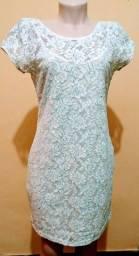 Vestido renda Folic