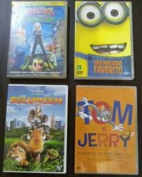 DVD DE DESENHO ANIMADO (USADOS)