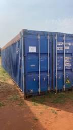 Título do anúncio: Container Open top 40 pes