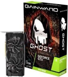 Placa de Vídeo GTX 1660 Super 6Gb Gainward Ghost Dual, nova (lacrada), Nf e Garantia