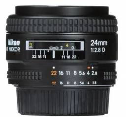 Lente Nikon Fx 24mm F/2.8d