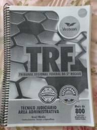 Título do anúncio: Apostila TRF 5ª Região