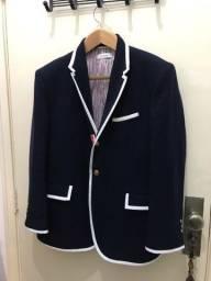 Título do anúncio: Blazer Thom Browne em pura  lã azul marinho