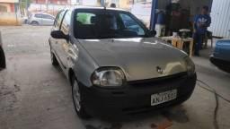 Clio, 1.0 8v, ar gelando, pneus novos, aberto a propostas