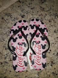 Chinelo Coca Cola Estampada