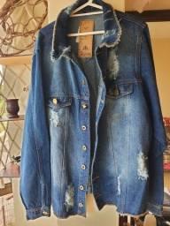 Jaqueta jeans Algema nova!!