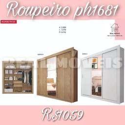 Título do anúncio: Guarda-roupa ph1681  / Roupeiro ph1681