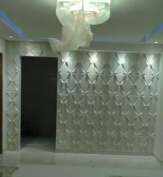 Gesso 3D para parede