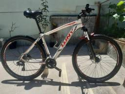 Bicicleta Bike Aro29 Tam.19 24V Freio Hidráulico, Suspensão trava guidão.