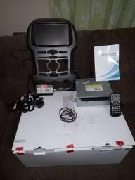 Kit multimídia original com camera de ré - RANGER