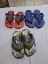Título do anúncio: Percatinhas e sandálias