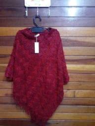 Poncho de lã