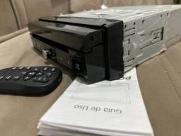 DVD retrátil Positron - modelo sp6330bt muito novo