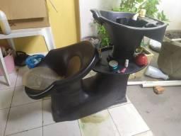 Lavatório de cabelo