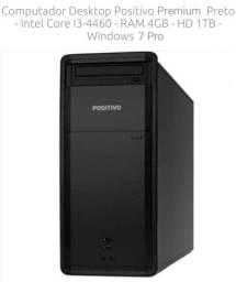 (Baixou!) Desktop Premium PC Core i3 4Gb DDR3 1Tb HD 1 Tera Black Piano (novíssimo)