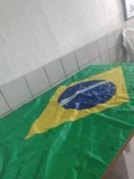 Bandeira gigante do Brasil novas envio