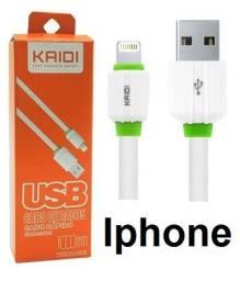 Cabo Carregador iPhone - Todos Modelos - Marca Kaidi Kd-306 - Carregamento Rápido