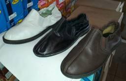 Sapatilha mocassim em couro legítimo