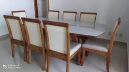 Título do anúncio: Mesa de jantar 8 lugares nova completa