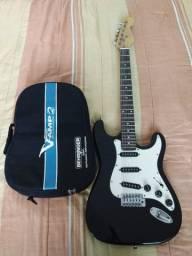 Guitarra + Pedaleira (Troca por celular ou pc)