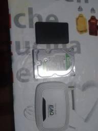 HD 1 tera  roteador tp link adaptador de HD externo