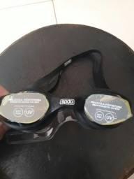 Óculos natação nunca usado tamanho único
