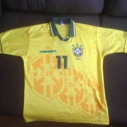 Camisa Original Seleção Brasileira Copa De 1994  11 d4ab007493a76