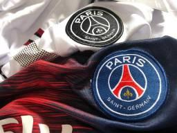 Camisa PSG Masculina 2018/19 Tamanho 4XL, Uniforme 1 e 2, Nunca usada, Paris Saint-Germain