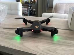 Drone Visuo XS809 - Câmera 2Mp - 2 Baterias Extras!!! Parcelamos em até 3 x Sem Juros !!!