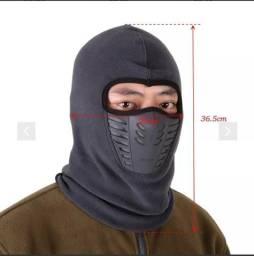 Balaclava facial touca/moto/ciclista com protetor rosto