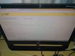 Monitor Aoc Wide F19 Polegadas Muito Bem Conservado