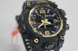 4 Relógios Skmei tático/militar Revenda e lucre