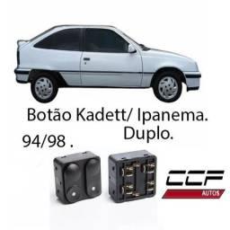 Botão Interruptor de Vidro Eletrico Kadett/Ipanema 94/98 Duplo comprar usado  Itapevi