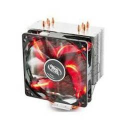 Cooler CPU Deepcool Gammaxx 400 Red LED - Loja Fgtec Informática