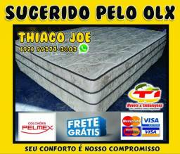 Cama box com molas
