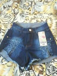 Shotinhos jeans