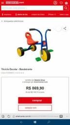 Triciclo Pega Carona Bandeirantes