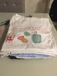T-Shirt Diversos Tamanhos Novas