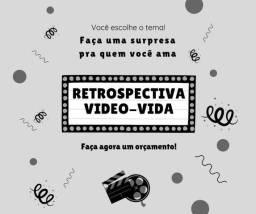 Retrospectiva, video vida e edição de vídeos
