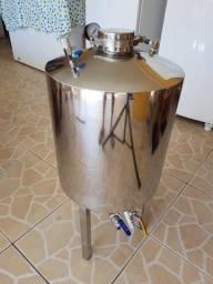 Fermentador de cerveja inox pressurizado 50 litros